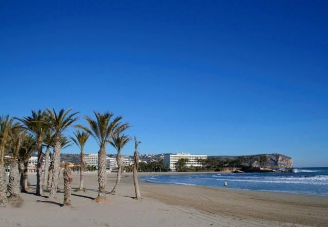 Javea, playa del Arenal