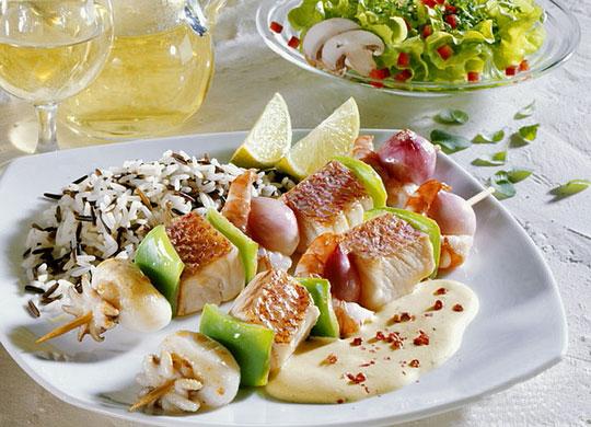 Gran variedad de restaurantes especializados en cocina mediterránea